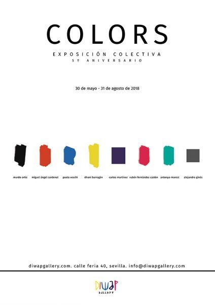 Cartel de la exposición colors