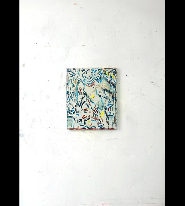 Armando Rabadán. S/T. Óleo sobre lienzo. 41 x 33 cm. 2021. Precio aproximado de mercado: 220 - 280 € (IVA no inc.). Precio de salida: 100€ (IVA no inc.).